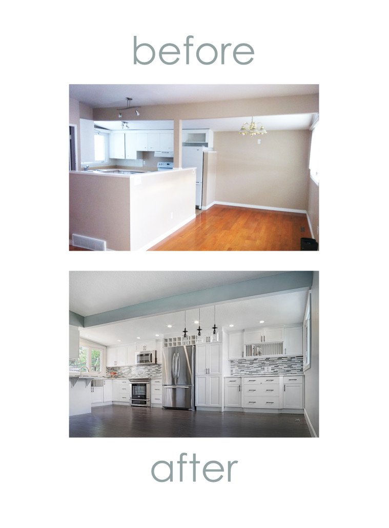 Before And After Home Renovation Yeg House Of J