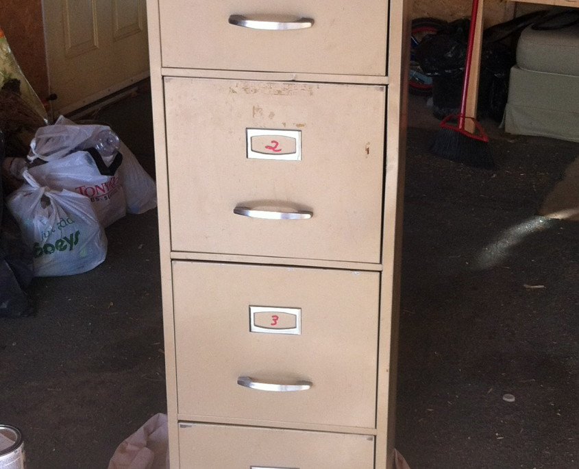 Old File Cabinet Found At Re Store For $40