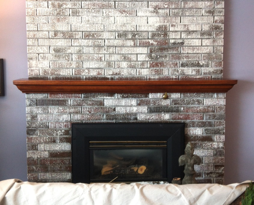 painting a brick fireplace how to paint brick white. Black Bedroom Furniture Sets. Home Design Ideas