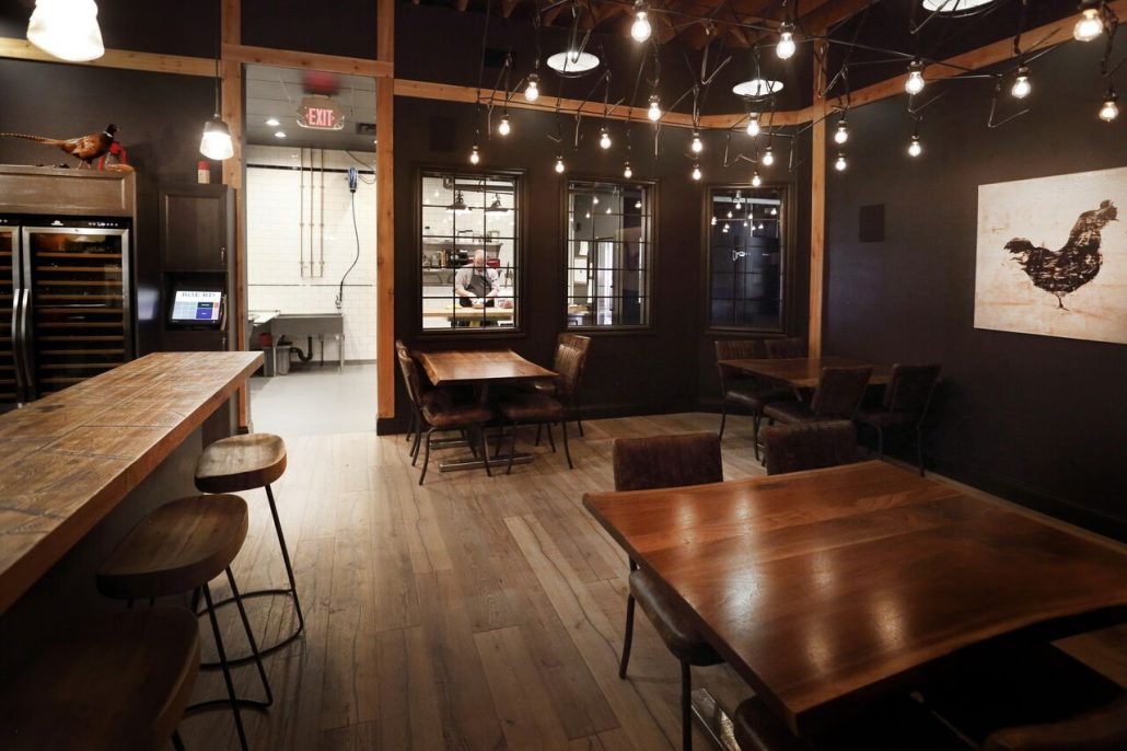 Rge rd butchery edmonton restaurant interior design project